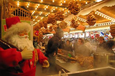 Chalets des marchés de Noël