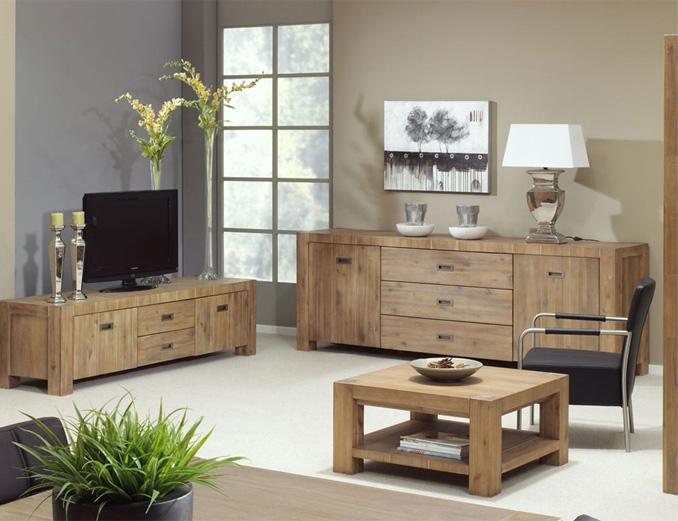 Salon avec une TV 3D